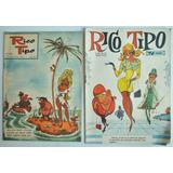 Lote X2 Rico Tipo N 853 1096 Revista Escarapela 1961 1966