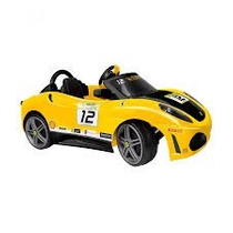Carro / Carrito Para Niño Ferrari Electrico