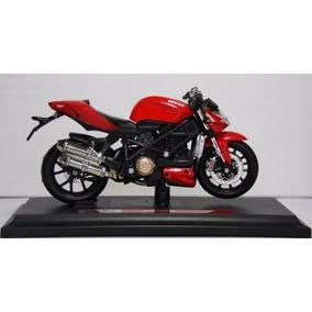 Miniatura Moto Maisto Ducati Streetfighter S 2010 1:18