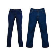 Pantalon Jeans Industrial, Triple Costura. Dama Y Caballero