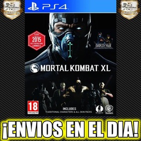 Mortal Kombat Xl Ps4 Juego Playstation 4 Stock 1°