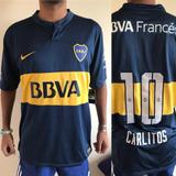 Camiseta De Boca Titular 2014 Carlitos Nueva Y Original
