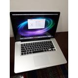 Apple Macbook Pro 15 Intel I7 Early 2011 Con Detalle