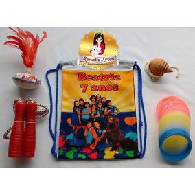 Lembrancinha Personalizada Chiquititas/mochila Boa Infância