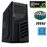 Pc Gamer 3.5ghz + Nvidia Gtx 1050 Ti 4gb + 8gb Ddr4 2400mhz