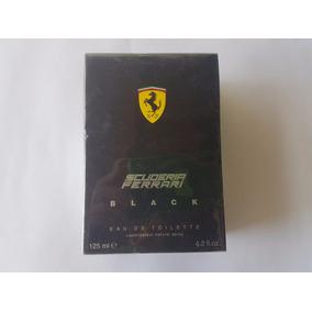 Perfume Scuderia Ferrari Black 125 Ml 100 % Original Y Nuevo