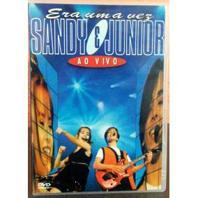 Dvd Sandy E Junior Ao Vivo Era Uma Vez - Novo, Lacrado