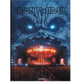Caderno Iron Maiden 1 Matéria Credeal 96 Fls Modelo 1