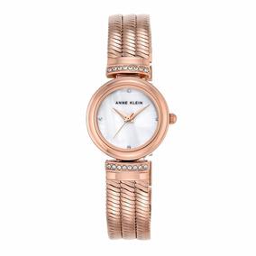 Reloj Anne Klein Para Dama Ak2758mprg Oro Rosa Swarovski