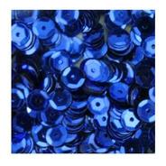 Lantejoula Cubeta Metalizada 6mm 100grs 61 Azul Lantecor