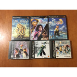 Final Fantasy Lote Ps1 Playstation Ps2