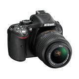 Nikon D5200 Con Lente 18-55 Nueva En Caja Cerrada