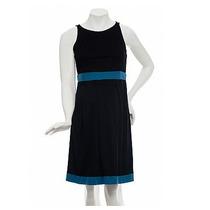 Vestido Bicolor Com Pregas - Emma Fiorezi Moda Gestante