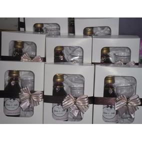 31 Mini Vinho Personalizado 60 Ml Na Caixinha+tacinha Lindo