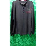 Camiseta Masculina Manga Longa Casual Giardino Tm/ G