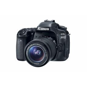 Cámara Canon Eos 80d 18-55mm