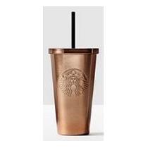 Starbucks Vaso Metálico Para Líquidos Color Cobre Amyglo
