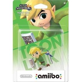 Amiibo Toon Link Smash Bros Legend Of Zelda Wii U Switch 3ds