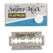 Hojas De Afeitar Super Max Platinum X 5 Unidades - Eco