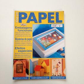 Revista Arte Em Papel Embalagens Latas Decoradas Caixas N°04