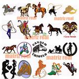 Matriz De Bordado Country Rodeio Cowboy Vaquejada Cavalo Boi