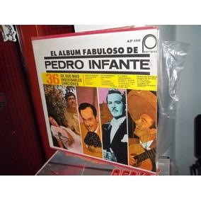 Disco Lp Vinilo Pedro Infante Album Fabuloso (2 Discos