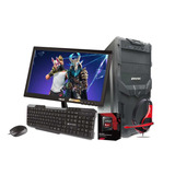 Computadora Pc Cpu Gamer Amd A6 Radeon 8gb 500gb Monitor Kit