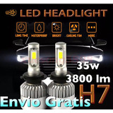 Luces Led H7 Autos /35w 3800lm