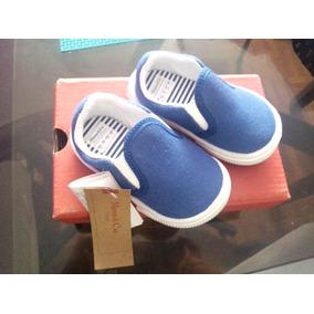 Zapatillas Panchas Mimo Azul Marino Talle 18 Nuevas Sin Uso