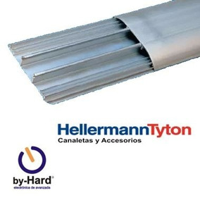 Cablecanal Aluminio Pisocanal 100x2000mm Hellerman Tyton