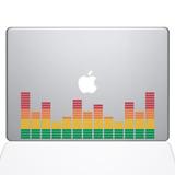 Accesorio Notebook The Decal Guru Music Volume Bars