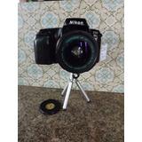 Maquina Nikon F50 Para Revisar * Frete Por Nossa Conta #1490