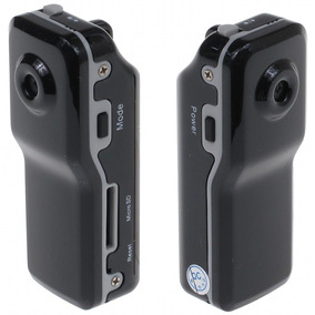 Mini Filmadora Detetive Camera Dv Espia 5.0 Mp C/ Sensor