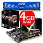 Combo Amd 4000 + Ram 4gb + Board Esc A68