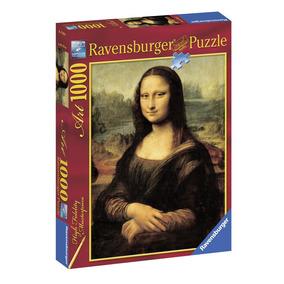 Rompecabezas Leonardo Da Vinci Mona Lisa 1000 Piezas