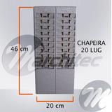 Chapeiro Ou Chapeira 20 Lug - Suporte Porta Cartões De Ponto