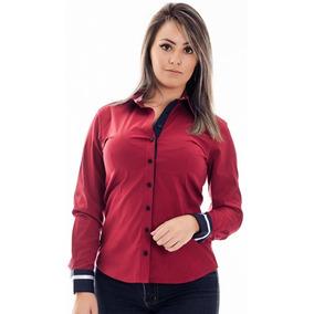 Camisa Social Feminina Tamanho Xgg - Camisa Social Manga Longa ... b0e8059ef0