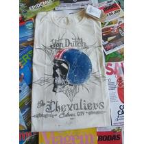 Camiseta Von Dutch Branca