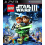 Lego Star Wars 3 The Clone Wars Ps3 Original Totalgames