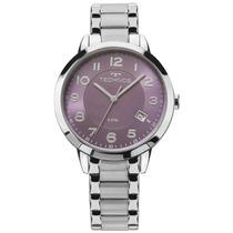 Relógio Technos Dress Feminino Prata 2315acn/3g 2315acn/3g
