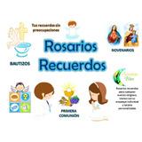 Rosarios Recuerdos Primeracomunion Novenario Difunto Bautizo