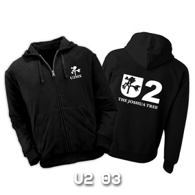 Sudaderas U2 Con Zipper - 12 Diseños Disponibles!!!