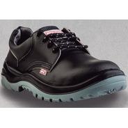 Zapato Seguridad Grafa 70 Mod 103 Cuero Suela Pu Iram 36al46