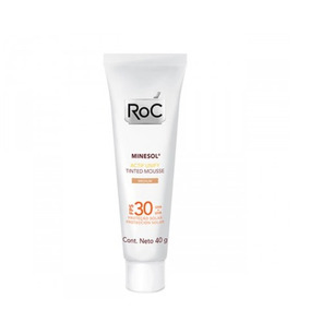 Roc Minesol Actif Tinted Mousse Medium Fps30 - 40g