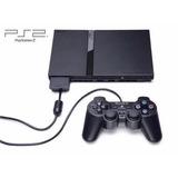 Consola Ps2 Slim Con Control Juegos Y Memoria Impecable