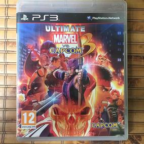 Jogo Ps3 - Ultimate Marvel Vs Capcom 3
