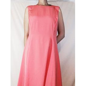 Hermoso Vestido Color Coral Tommy Hilfiger Talla 12