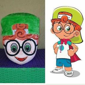 Mascote - Cabeça - Máscara - Personagem Vivo - Fantasia
