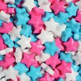 Estrellas Neon Y De Colores A Granel Mayoreo Fiesta Dulcero