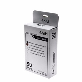 Papel / Ribbon Impressora S420 Hiti Kit 10x15 (com Chip)